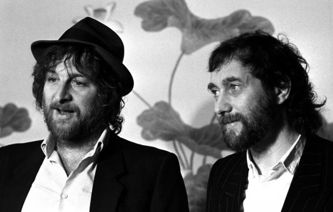 File photo dated 12/03/84 of cockney duo Chas (Hodges) and Dave (Peacock). Picture: PA