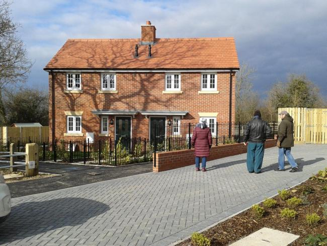 DEVELOPMENT: Lyme Regis CLT commissioned 15 affordable homes at Garmans Field