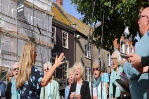 Bridport Charter Fair brings Bucky Doo Square and Bridport Arts Centre to life