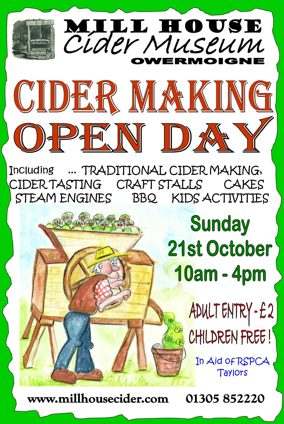Cider Making Open Day