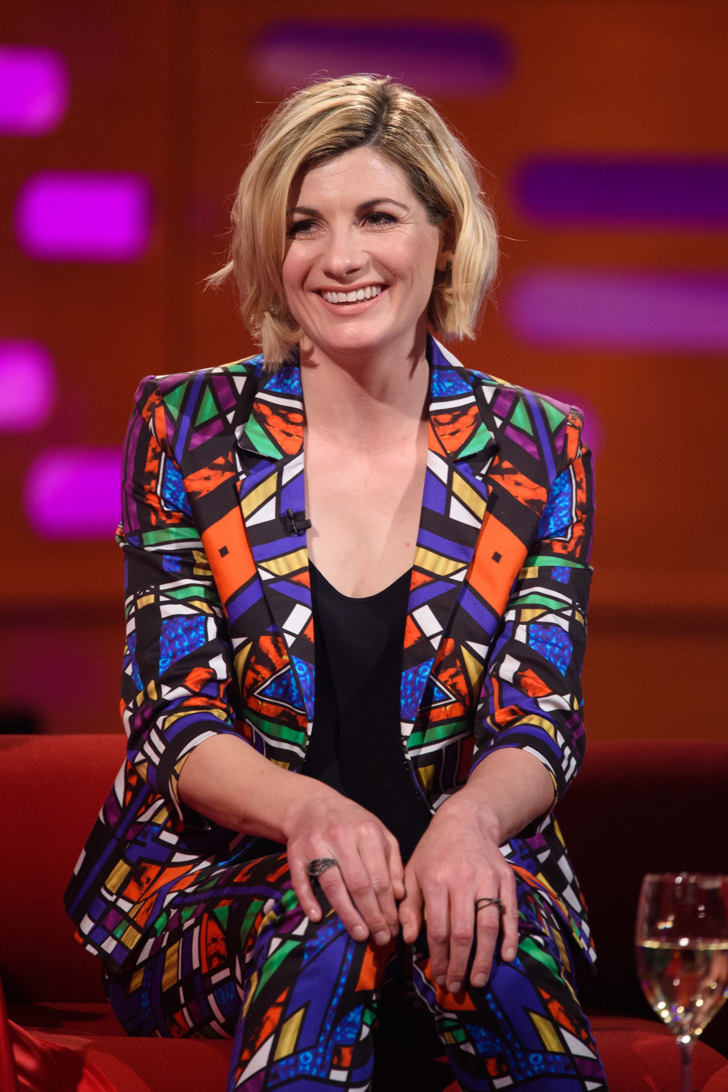 "File photo dated 27/09/18 of Jodie Whittaker, who has said that she avoided reading the reviews of her performance in Doctor Who because it would not be good for her ""soul"". PRESS ASSOCIATION Photo. Issue date: Tuesday October 9, 2018. However,"