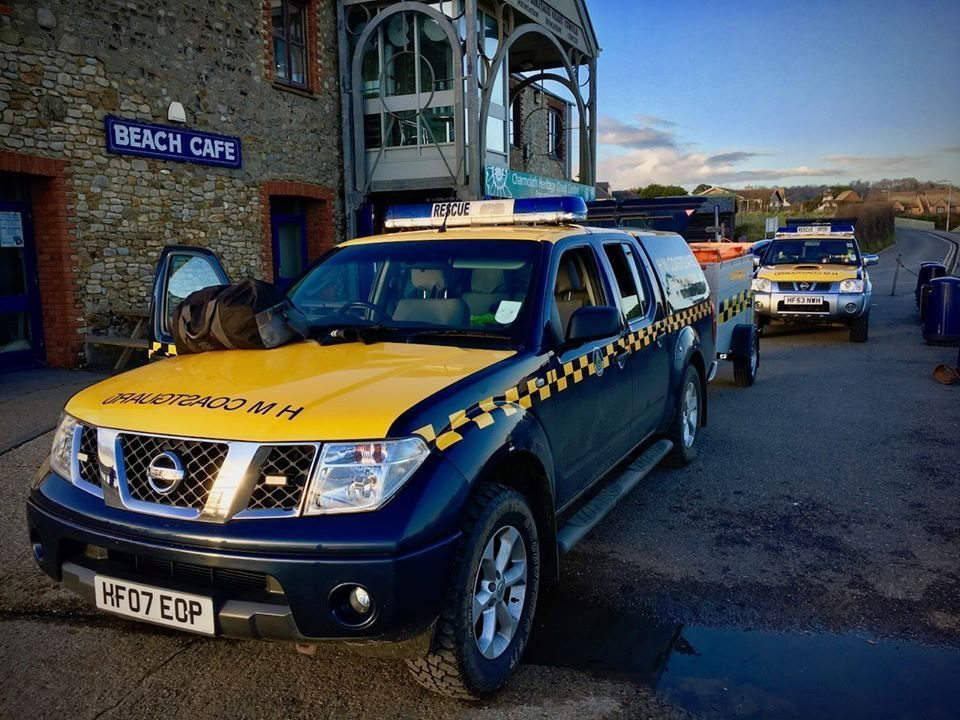 West Bay coastguard was called to a 'false alarm with good intent'