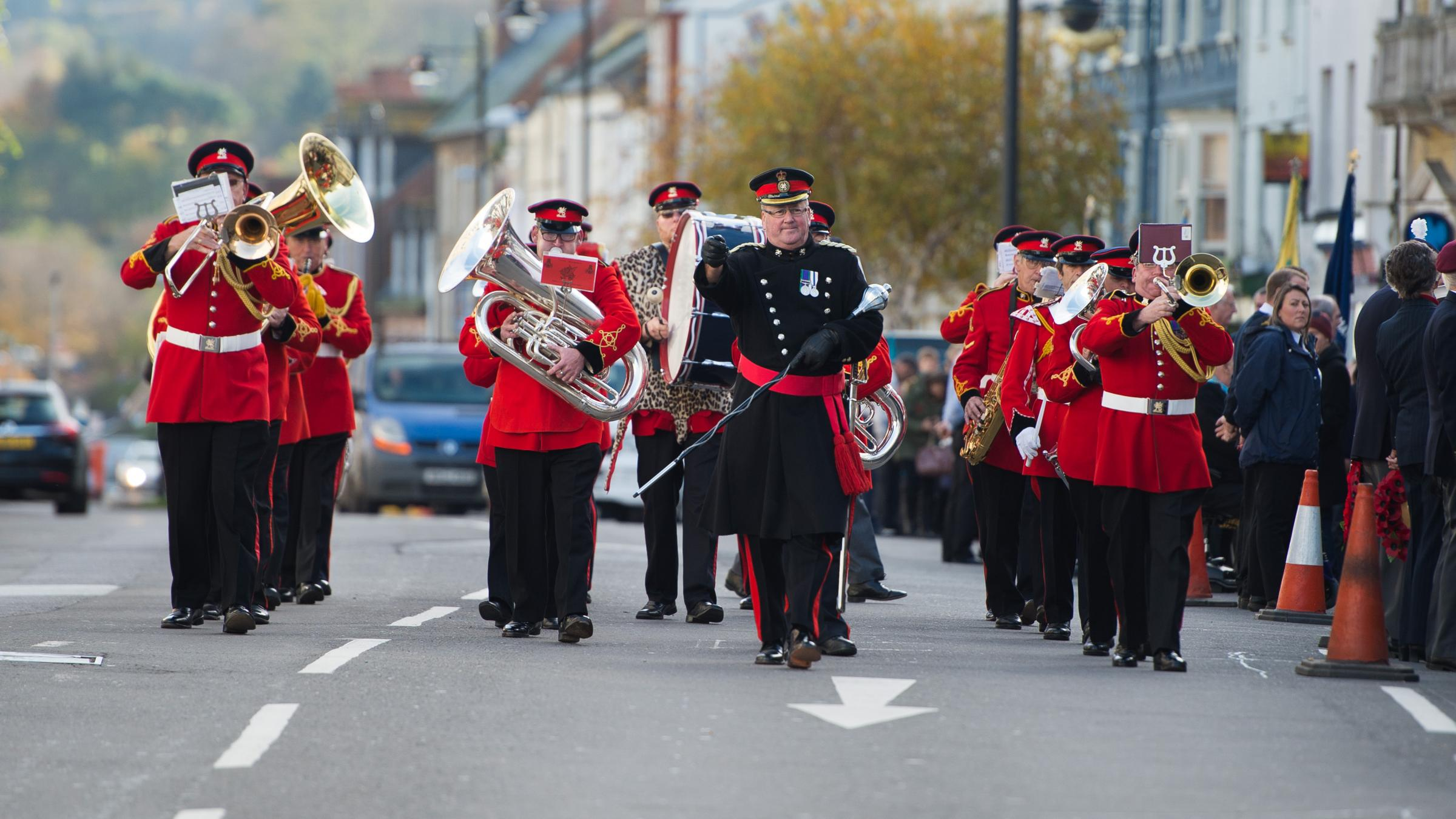 Bridport Remembrance Parade - 13/11/16 - PHOTO: ROB QUINCEY/RQ087.