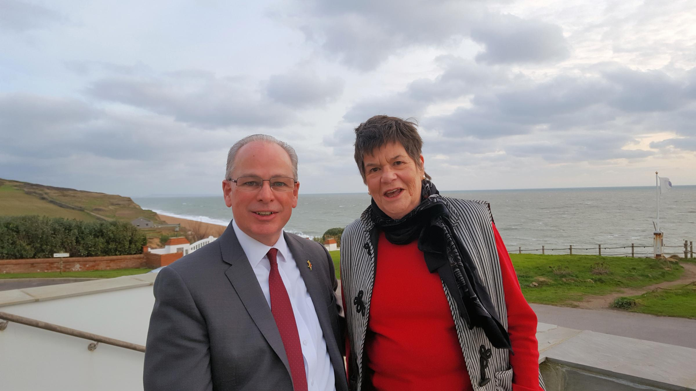 Nigel Bates and Mary Russell