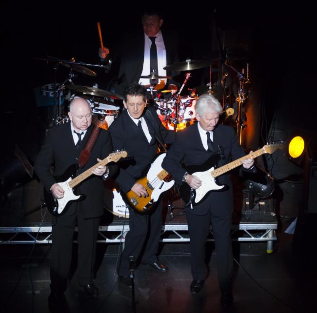 The Searchers on stage at Theatre Royal Wakefield.