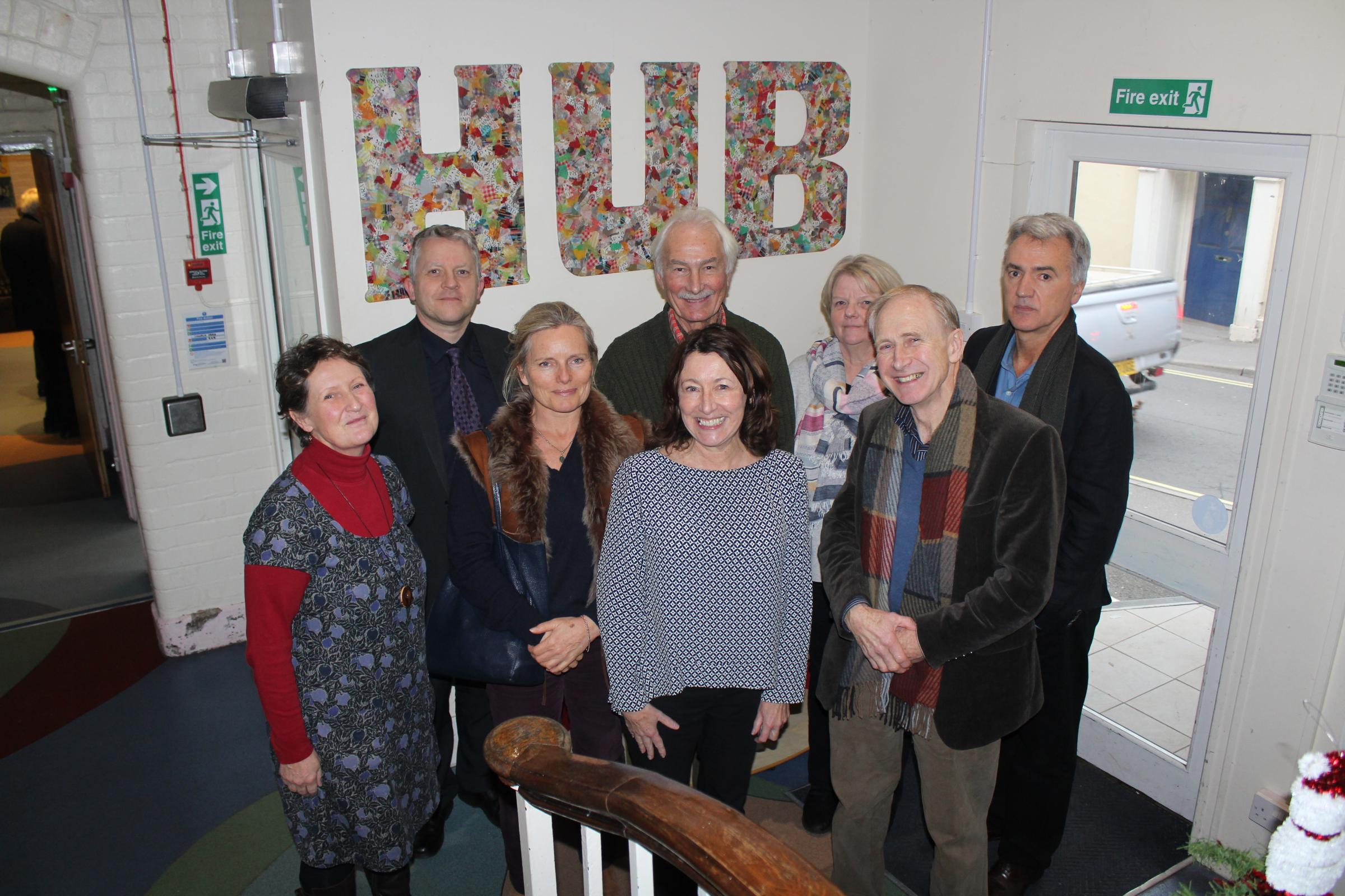 BOOST: The Alexandra Hotel and Restaurant will be sponsoring The Hub in Lyme Regis on a monthly basis