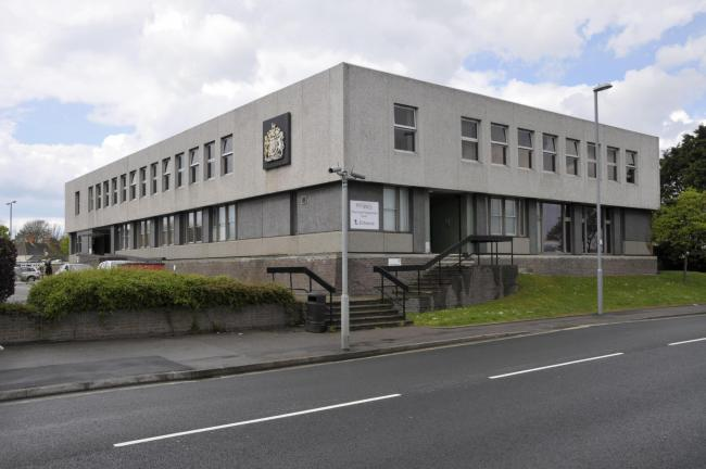 Weymouth Magistrates Court.  280409, Picture: GRAHAM HUNT/HG4718..