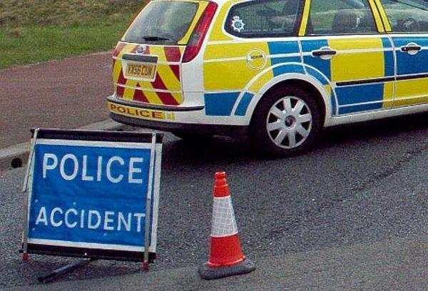 A35 closed both ways after serious crash