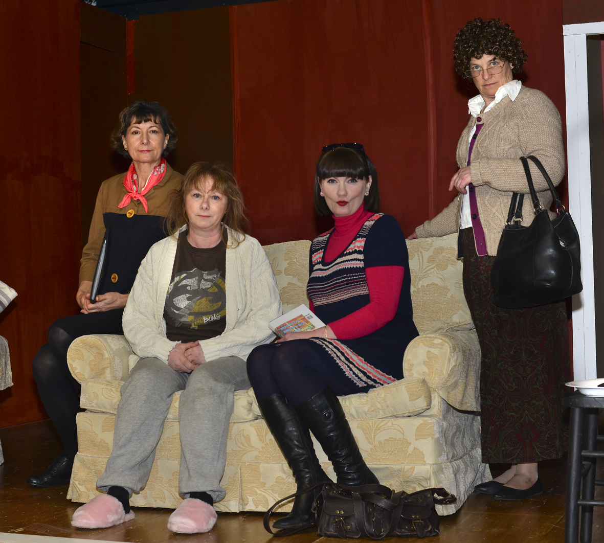 Drama group's search for love