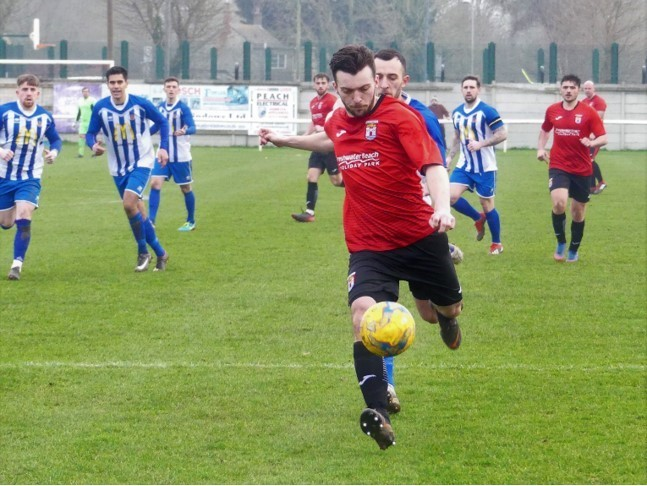 IMPACT: Ed Butcher now has four goals in five games since his return to the club               Picture: STEPHEN BARRETT