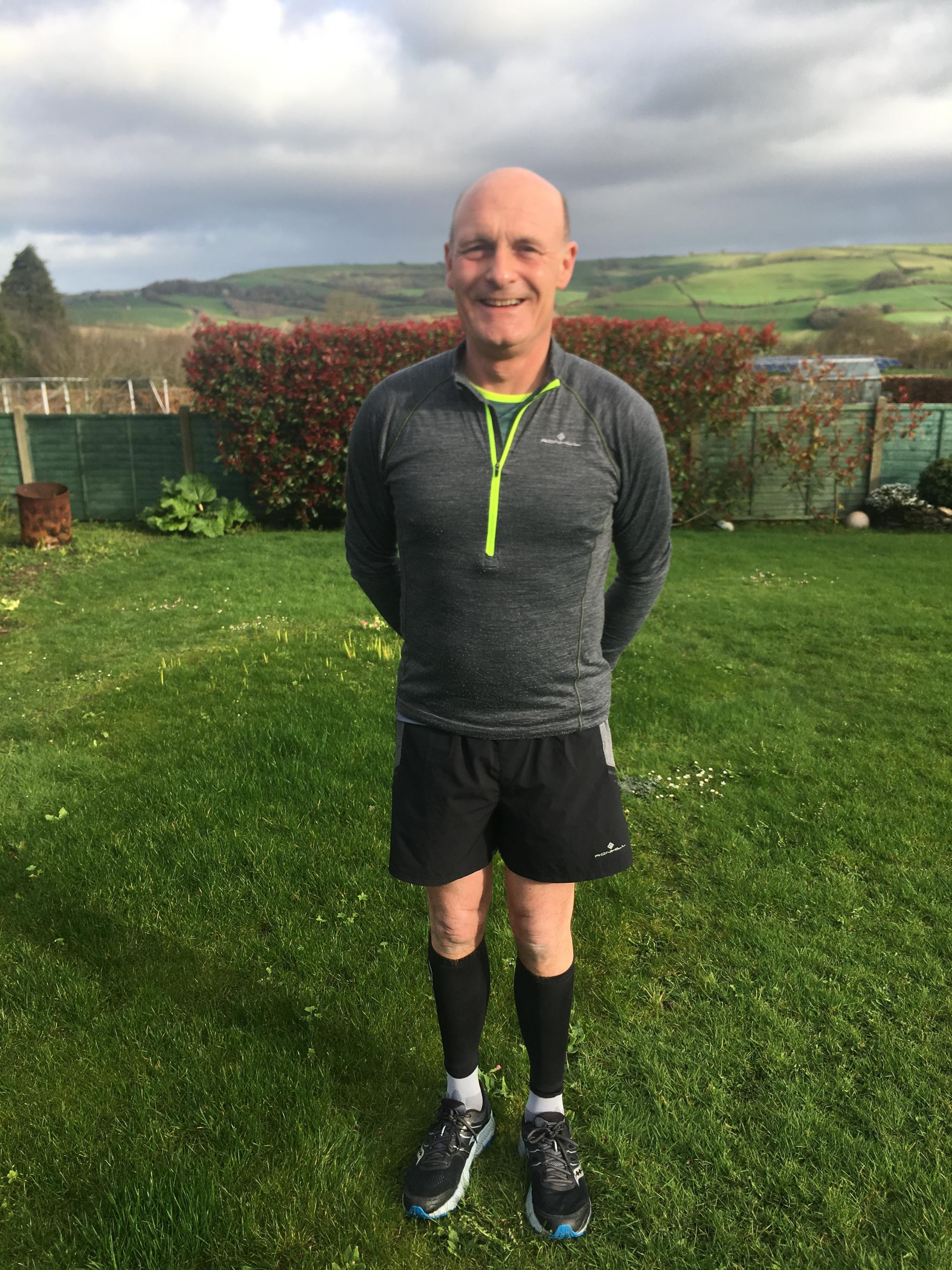 Head of Stags estate agents will run the London Marathon in aid of Cancer Research