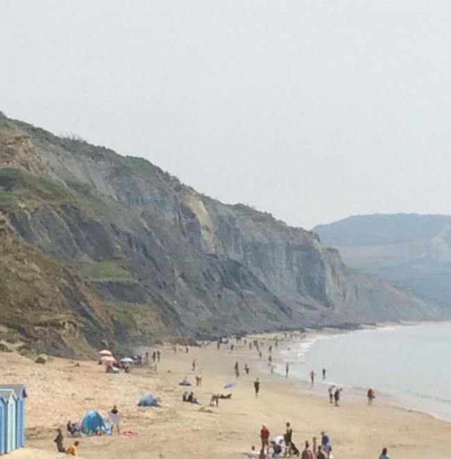 FUNDING BLOW: Charmouth Beach Picture: Charmouth Heritage Coast Centre
