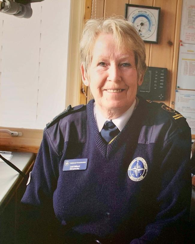 n Judi Gifford, former station manager at Lyme Bay NCI, has died aged 68