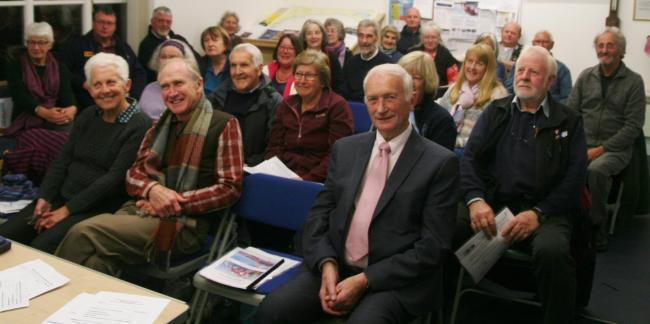 FUNDRAISERS: Members of the Lyme Regis and Charmouth RNLI Guild changed their name and looked back on a successful year