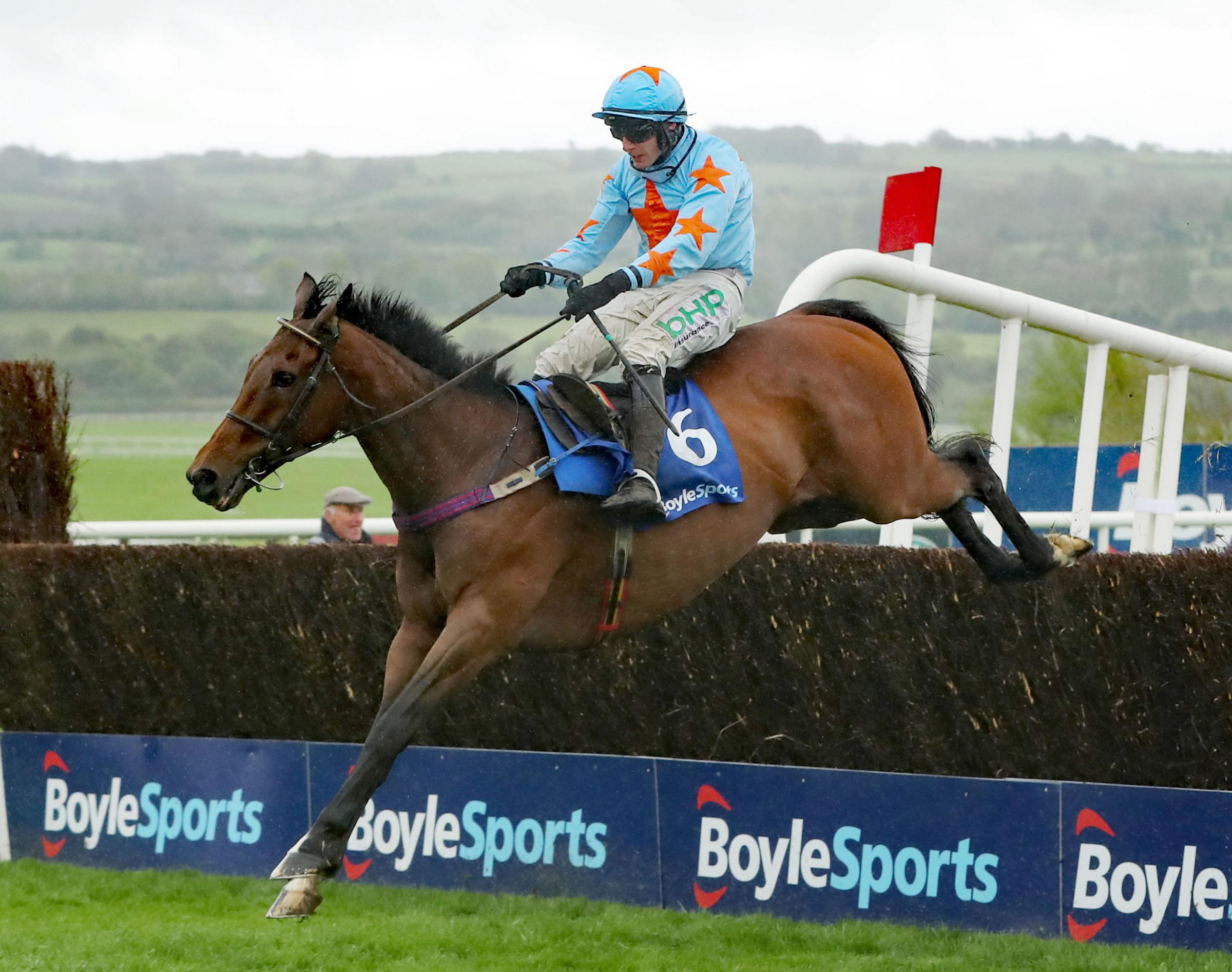CROWN DEFENDED: Un De Sceaux ridden by Paul Townend Picture: NIALL CARSON/PA