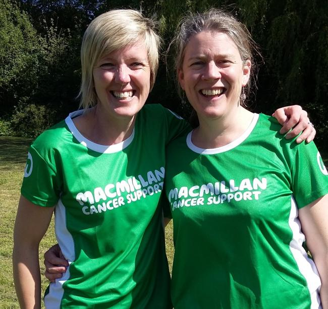 Alice Williams and Liz Broome will be taking on the Thames Path Mighty Hike