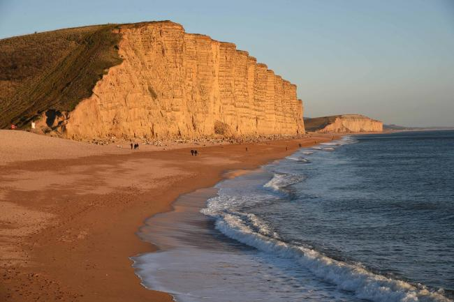 ICONIC: East Cliff, West Bay  Picture GRAHAM HUNT