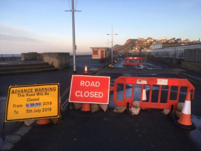 Voice queries on West Bay flood defence works