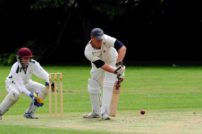 EASY WIN: Ross Baker took 3-18 and scored 19 runs against Shaftesbury	          Picture GRAHAM HUNT/HG12141