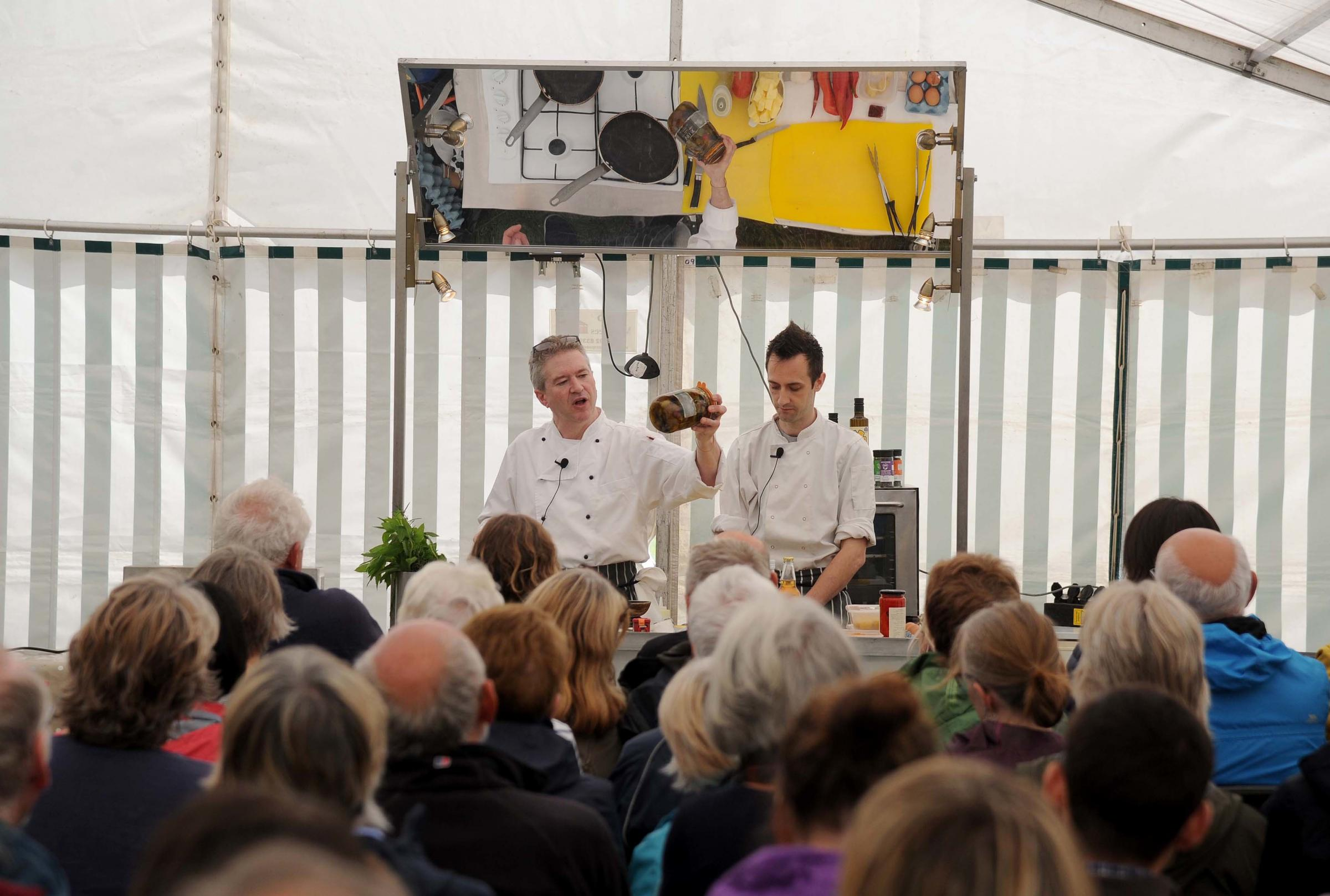 Popular Bridport Food Festival is again a great success